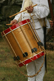 colonial drummer--revolutionary war reenactment