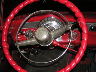 steering wheel of a pontiac