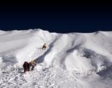 island peak ridge - nepal poster