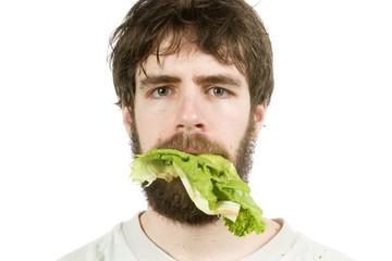 unimpressed with salad
