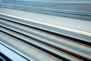 rail-road tracks background