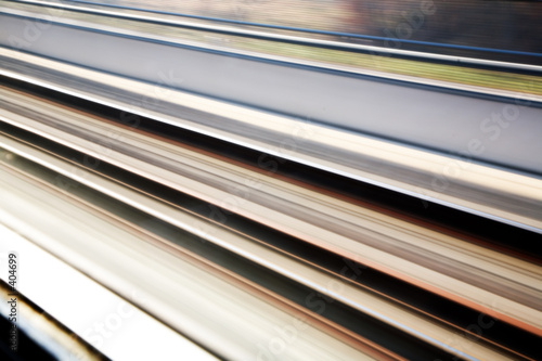 rail-road tracks background