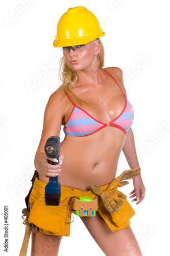 model construction worker