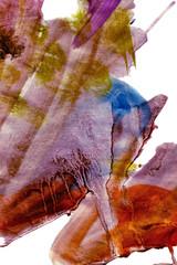 bruised grunge painting