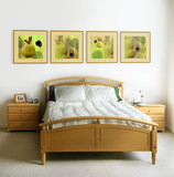 modern bedroom poster