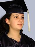 proud graduation girl poster