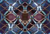 marseille gated pattern poster