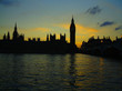 westminster, sunset