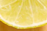 sliced lemon poster