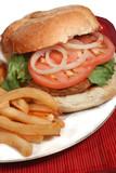 turkey burger poster