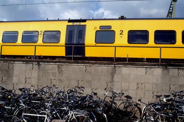 first bike then train