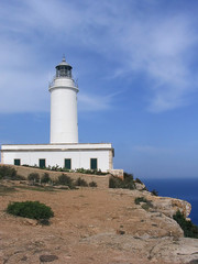 la mola lighthouse (formentera, spain)
