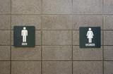 public restrooms poster