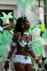 carnaval et danseuse