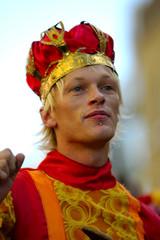 homme roi