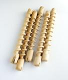 wooden spirals poster