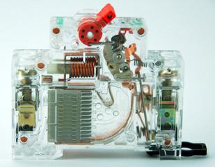 transparent circuit breaker