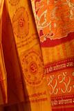 indian fabrics poster
