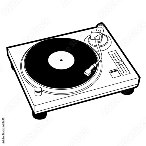 turntable - 418659
