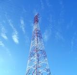 high voltage power mast poster