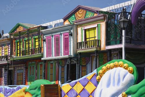 Keuken foto achterwand Carnaval mardi gras float details