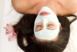 facial mask poster