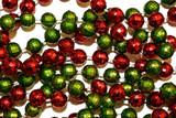 christmas beads poster