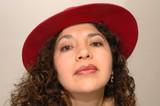 intense latina woman poster
