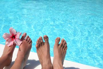 pareja de piernas