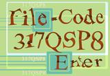 file code paper poster