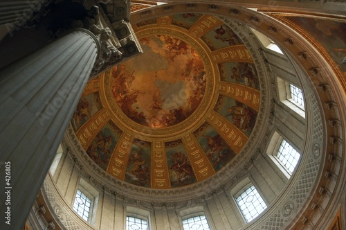 hotel des invalides interior, paris, france