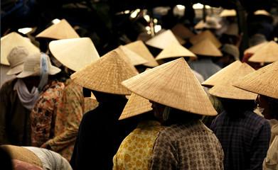 vietnam, hoi an: market