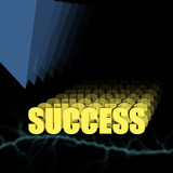 success 3d poster
