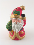 statue of father christmas poster