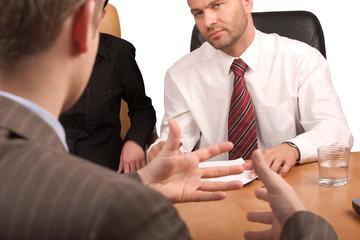 business meeting - body language