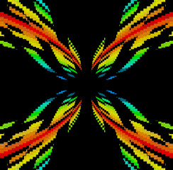color spectrum vortex