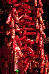 malaysia, kuala lumpur: chinese new year in the street
