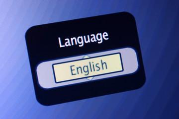 language sign-english