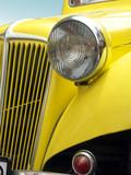 classic retro car poster