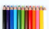 colored pencils horizontal