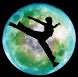 Fototapety moon dance