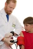 blood pressure test poster