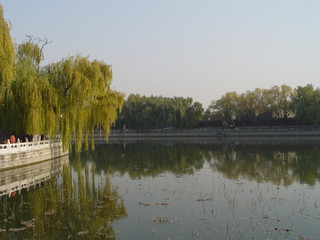 water view in beihai park - beijing