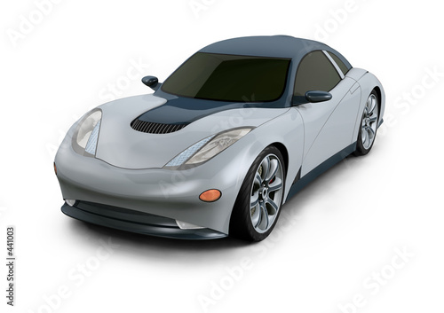 sports car (prototype design)