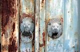 lion head gate poster