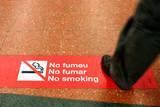 application loi anti-tabac en espagne poster