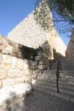 jerusalem steps to mount zion poster