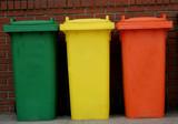 rubbish bins poster
