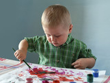 young painter poster