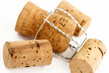 champagne and wine corks poster